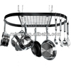Customized Metal Kitchen Pot Rack with Hooks Hanger