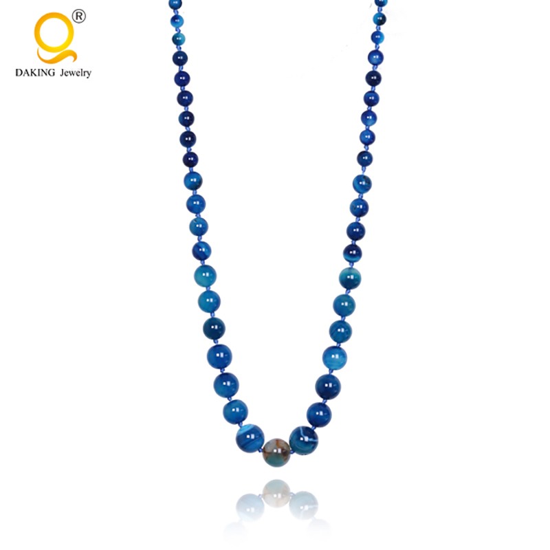agate necklace import china jewelry
