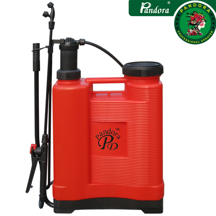 plastic metrial sprayer knapsack manual sprayer pandora sprayer 16L
