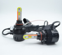 Auto parts super bright 28W 5600LM led headlight 9005 9006 with Wireless smartphone App controlled Bluetooth DRL