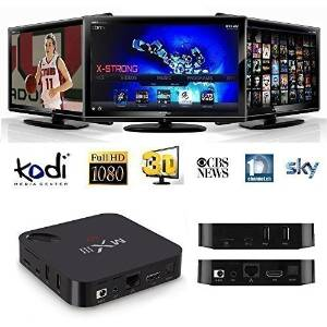 X-Strong® MX3 (MXIII) Quad Core Android 4.4 Amlogic S802 2G RAM 8G Rom Full Loaded XBMC 4K Smart HTPC TV Box 3D-HD Blu-ray DLNA Airplay Stream Media Player with WiFi Bluetooth 4.0