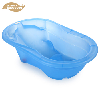 plastic new born baby items infant transparent bath tub product