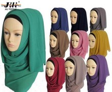 High quality quality voile polyester hot hijab sexy women scarf with good price