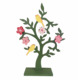 Wood easter deco Flower tree with bird easter wood home decorative gift