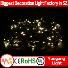 24V 30m 200leds led christmas light chaser outdoor led chasing christmas light led cluster christmas light with UL approved plug