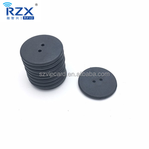 Waterproof PPS Industry RFID UHF Washable Laundry Tag for Clothes Washing