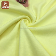 wholesale solid color women t shirt 100% cotton interlock fabric