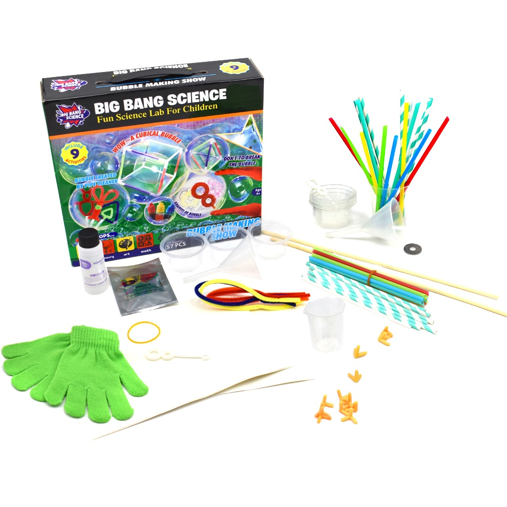 popular handmade education fun toys of Bubble Making Show