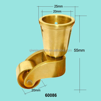 Manufacturer Of Antique Furniture Wheels Brass Caster