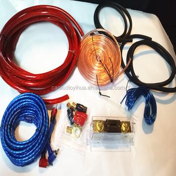 Speaker Wire 4 Gauge New Car Audio Amplifier Install Wiring Kit Oem