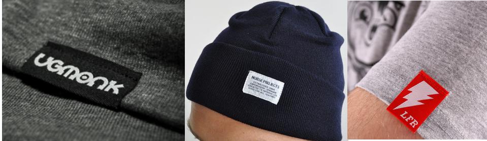 Etichette tessute Più distintivo imitazione caso di ordinazione di cuoio distintivo impronta etichetta tessuta etichetta Tessuta Etichette 2018 indumento