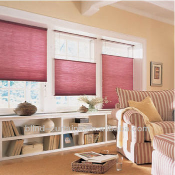 2015 Hot Sale Pleated Blinds/plisse Blind Sidewinder Control Up And ...
