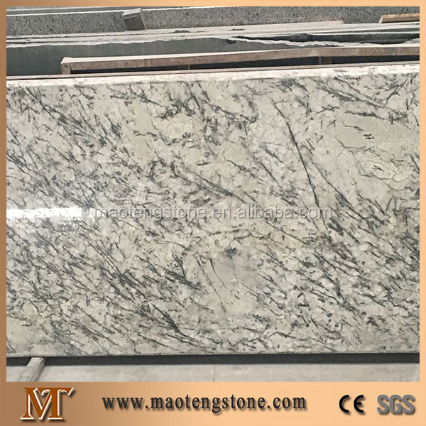 Artic cream white natural stone exotic granite slabs