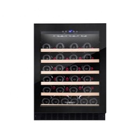Stainless Steel Red Wine Cabinet Red Wine Refrigerator For Hotel Western Restaurant