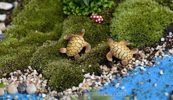 Garden Ornaments DIY Accessories Moss Micro Landscape Succulents Ornaments  Doll Ornaments Turtle DIY Resin Material