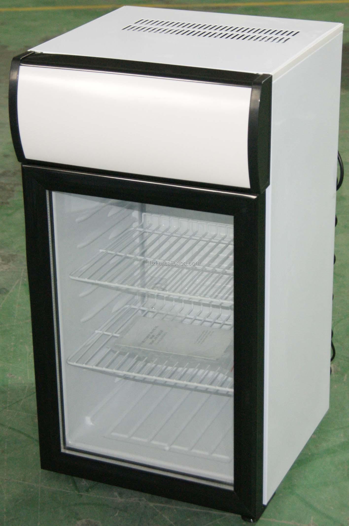 Ice Cream Mini Freezer Display Freezer 60liters 25 18