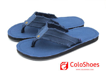 0bc3af97b My Coface eva sole men slipper fabric covered flip flops