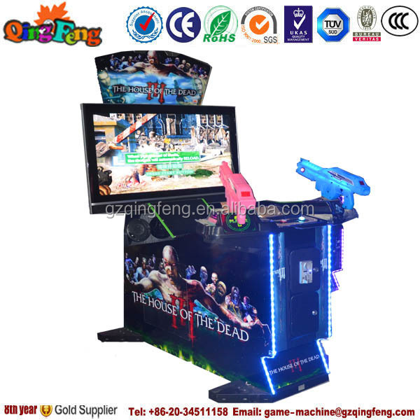 Qingfeng New Arcade Machine Time Crisis Coin Pusher ...