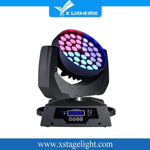 new led dj lights rgbw 4in1 moving head 36 pcs 10w led lyre wash