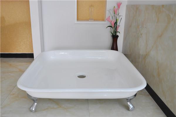 Hierro fundido plato de ducha ducha con patas bandeja para ducha bandejas de ducha - Bandeja con patas ...