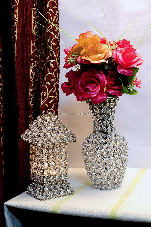 Crystal beads flower vase wedding centerpieces buy crystal crystal beads flower vase wedding centerpieces reviewsmspy