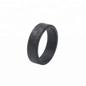 Silicone Wedding Ring For Men Safe Wedding Band Yoga Crossfit Rubber
