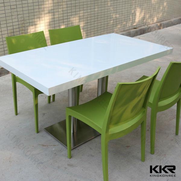 acrilico a basso costo fast food utilizzato tavoli e sedie