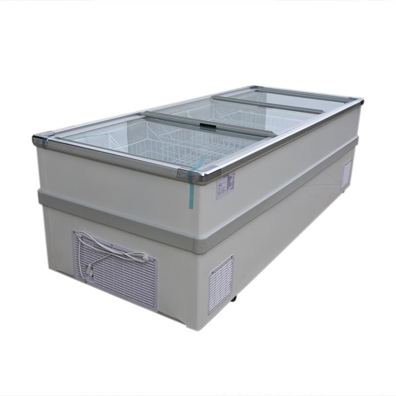 europe style hot selling top sliding glass doors deep freezers used shop chest freezers for sale - Chest Freezers On Sale