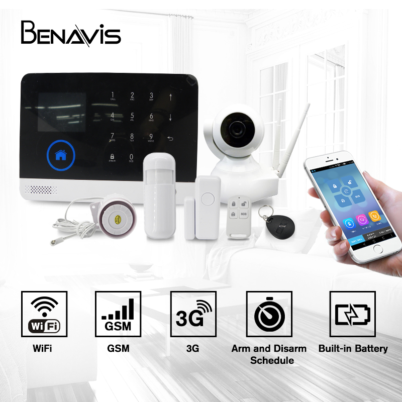 Systems 433mhz De Surveillance Ipc Guard Cam Network Networkcamera Alarm And P2p Home System Ip Wireless Wifi Security <strong>Camera</strong>