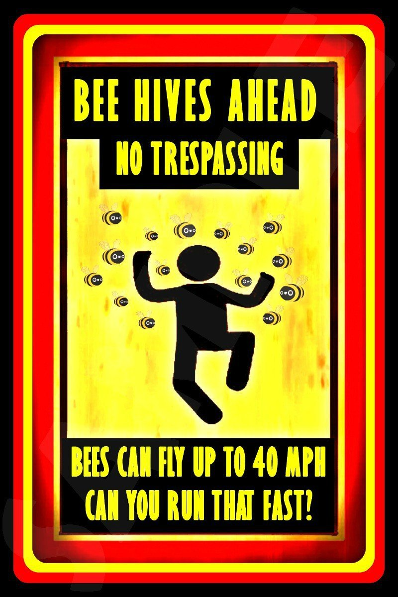 No Trespassing Sign Weatherproof Metal 8x12 Made In USA All Weather Man Cave Lounge Beer Garage D/écor Warning Private Property Keep Out
