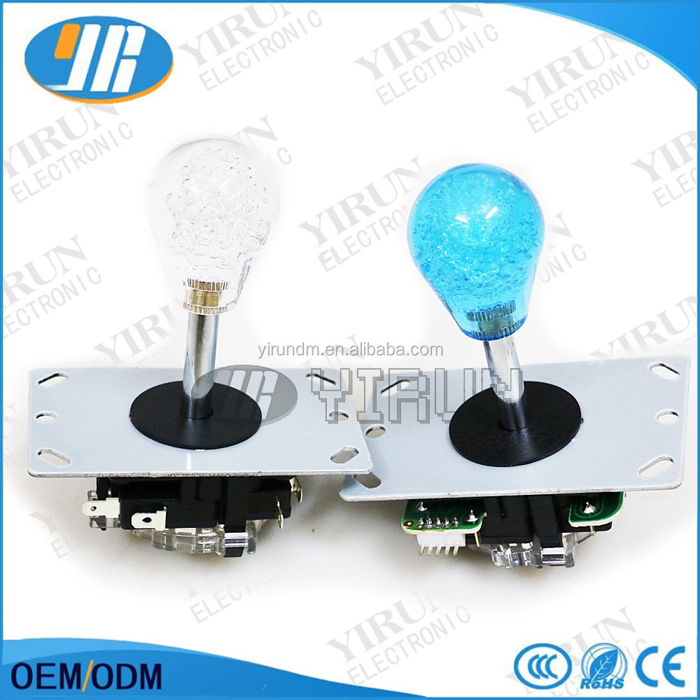 High quality arcade game machine toy crane machine joystick sanwa joystick crystal ball rocker