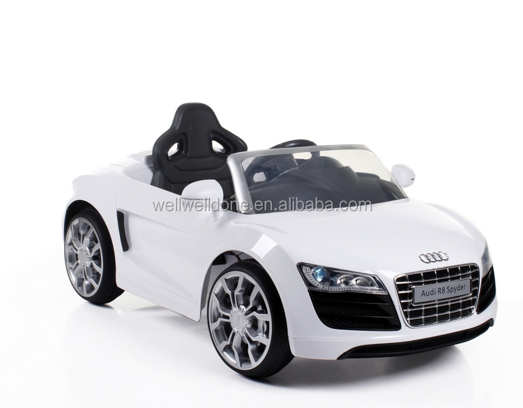 license car audi r8 real car for kids with 24g remote control the