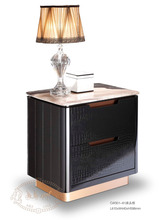 Modern night table bedroom luxury bed side table marble top night stand