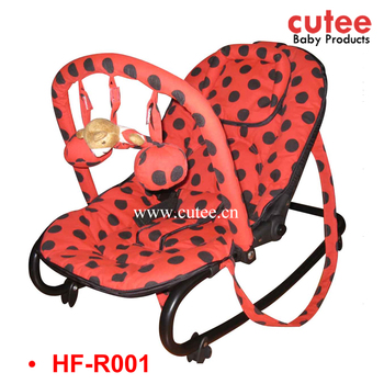 Kids Personalized Rocking Chair Adjustable Baby Bouncer Chair Cheap