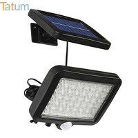 Amazon hot selling outdoor 56LED security split portable Solar panel powered PIR motion sensor home solar led Lights