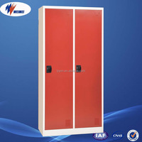 Henan Biggest Producer 2 door Steel Office Cupboard ventilated metal locker