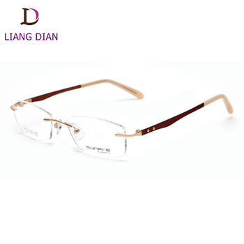 7f211859d1 Latest Fancy Rimless Glasses Frames For Girls