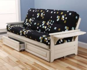 Get Quotations Kodiak Futons 760678 Futon Set White
