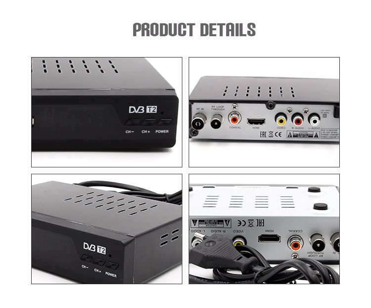 High Quality Digital Internet Tv Decoder,Wholesale Flame Sat Dvb-T2 Receiver