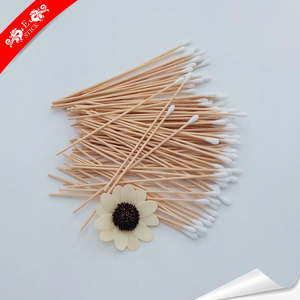 Colored mini type double tipped cotton bud for disinfection