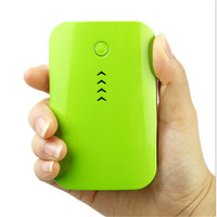 New consumer electronics portable battery charger 6000mah portable power bank