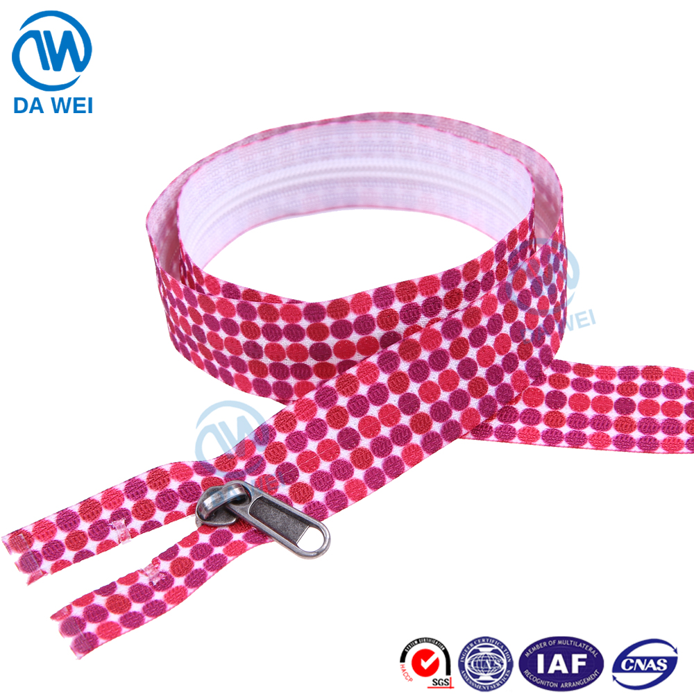 DAWEI BRAND YIWU High Quality Wholesale Prices invisible open end ziper