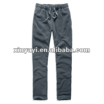 Fashionable plain dyed knitting jersey pants for ladies