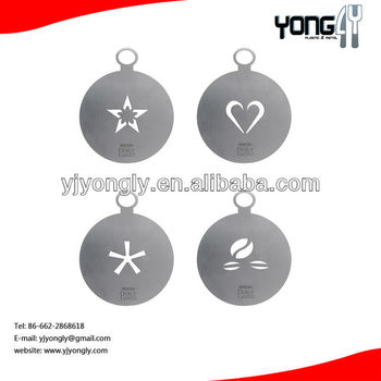 Stainless Steel Coffee Stencils Cuccino