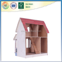 New Arrival DIY miniature doll house ,summer toy with ICTI