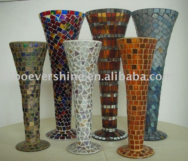 Glass Mosaic Vase Buy Mosaic Vasemosaic Vasedecorative Glass