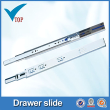 Luxury color zinc plated undermount soft close drawer slides
