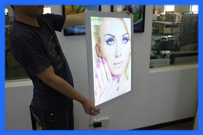Battery Operated Led Light Box / Small Led Light Box /movie Poster ...