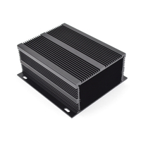 Aluminum extrusion enclosure electronics aluminium amplifier chassis