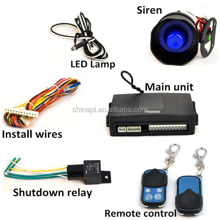 New auto device portable car alarm